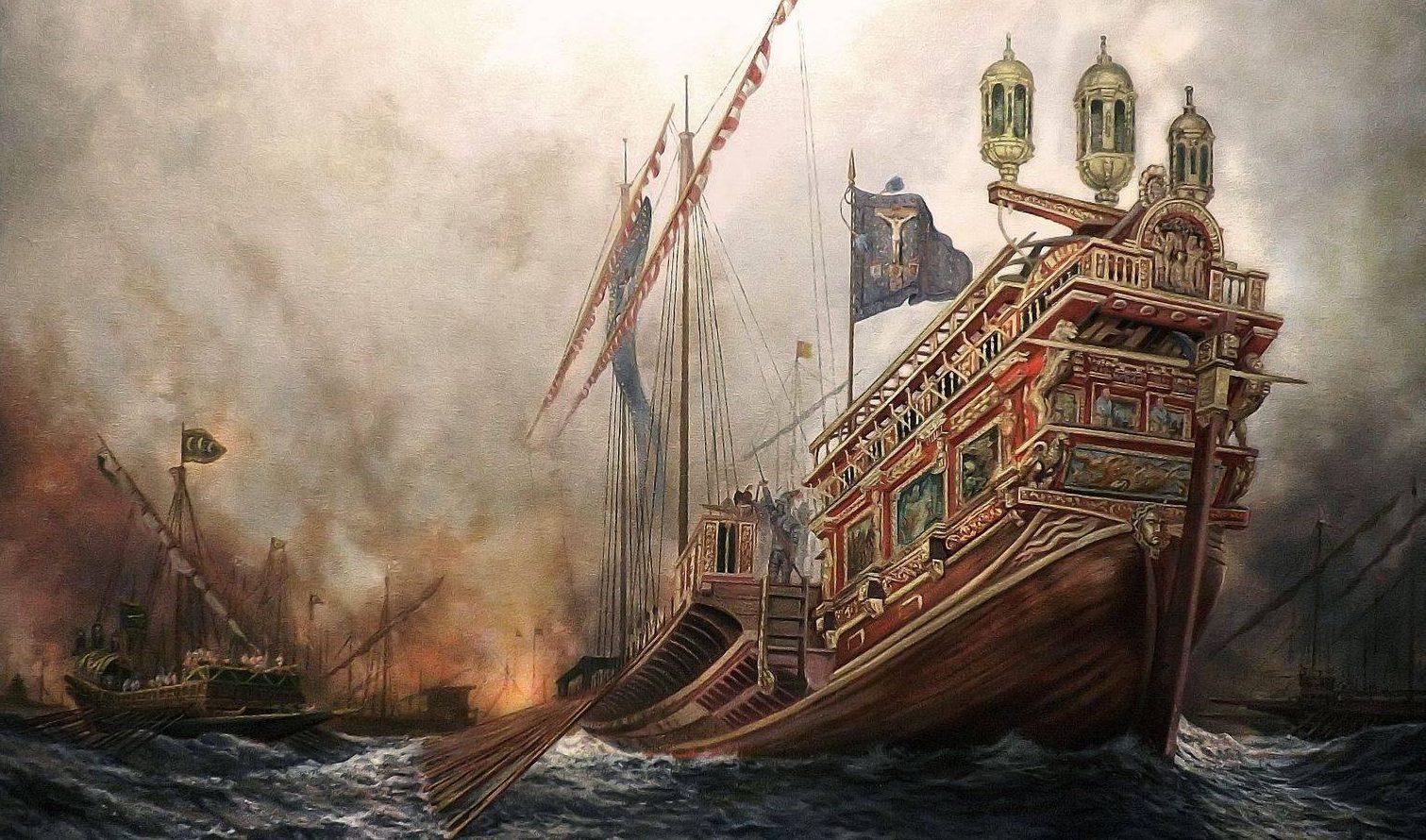 Batalla de Lepanto.
